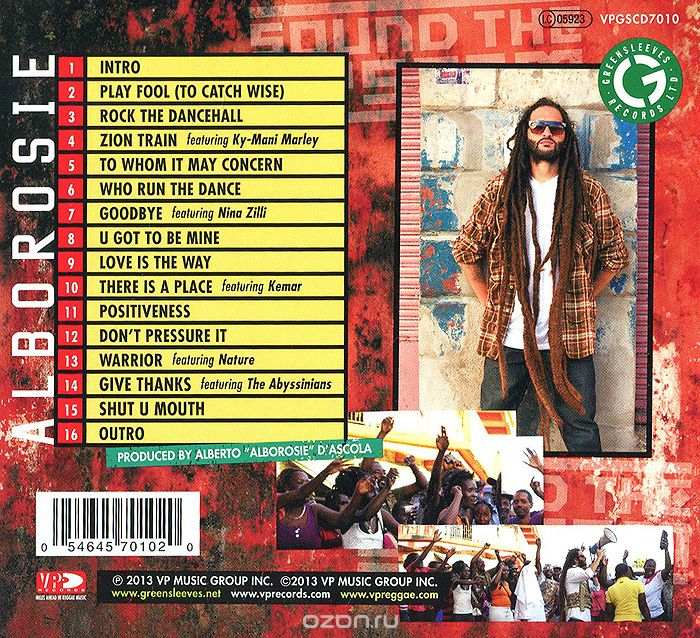 Alborosie. Sound The System (CD)