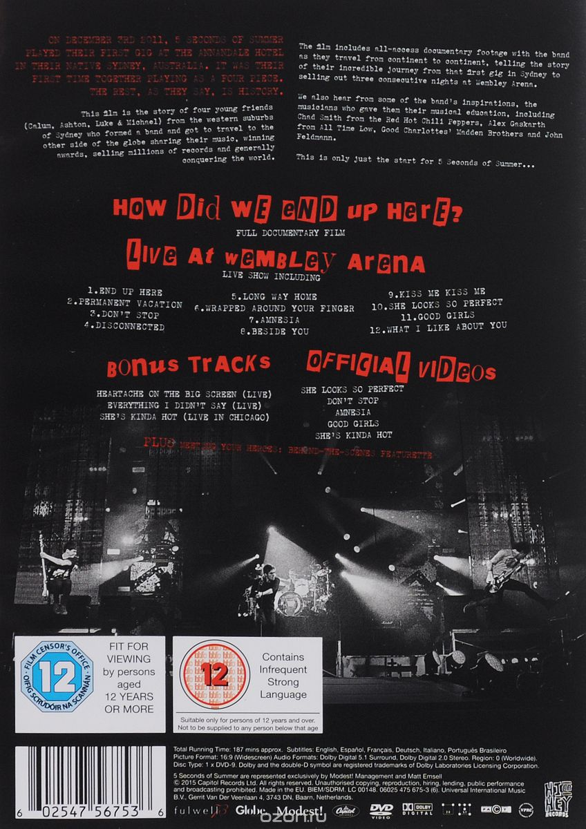 5 Seconds Of Summer: How Did We End Up Here? Live At Wembley Arena